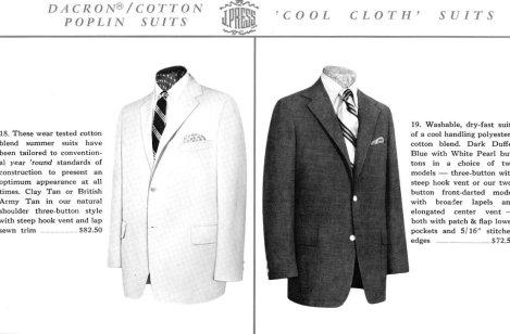 Cool Cloth J. Press Suits