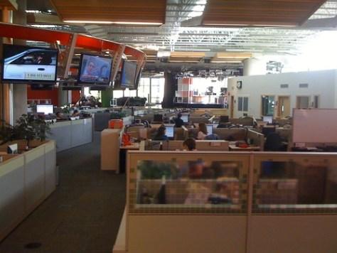 new CBC studio