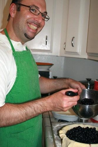 Steven Making Pie