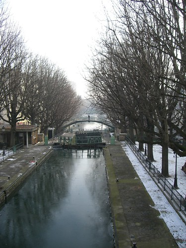 The locks at Canal Saint Martin.