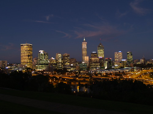 Earth Hour in Perth, Australia