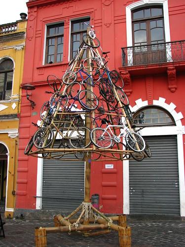 Arvore de Bicicletas