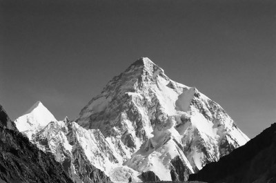 K2 from Concordia, Baltro glacier, Pakistan