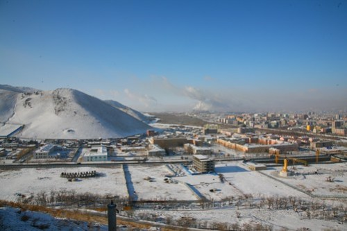 Ulaanbaatar & Pollution, Mongolia