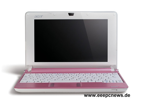Acer Aspire One pink 02 fv