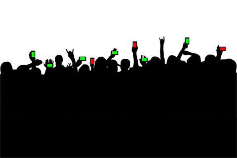 red:green audience