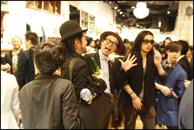 2010.04.27 Pass The Baton Omotesando Store Opening Party 32