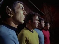 Spock, Kirk, McCoy, & Scotty