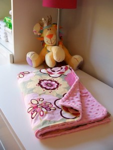 Babys Minky Blanket