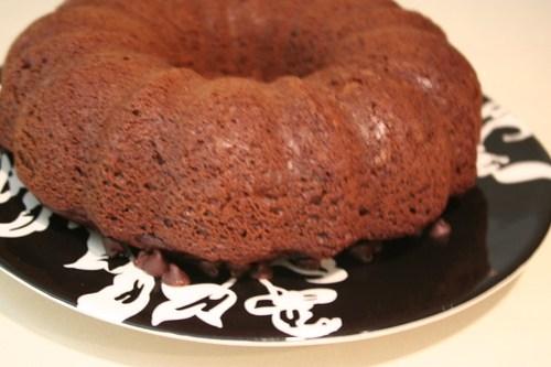 Chocolate cake for Matt