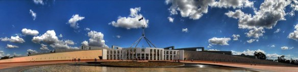 Parliament House Canberra HDR