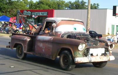 Tow Mater in Vernon, Texas.