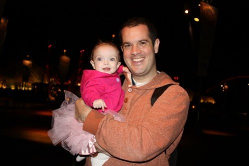 Maddie Ballerina and Daddy