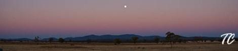 Sunset in Gunnedah