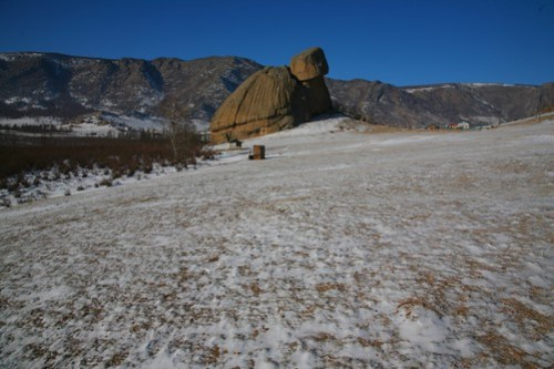 Turtle Rock, Mongolia