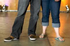 Matts + Kristens feet