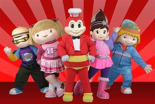 Jollitown mascots