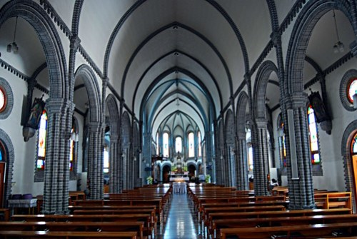 Interior, Gyesan-dong Cathedral