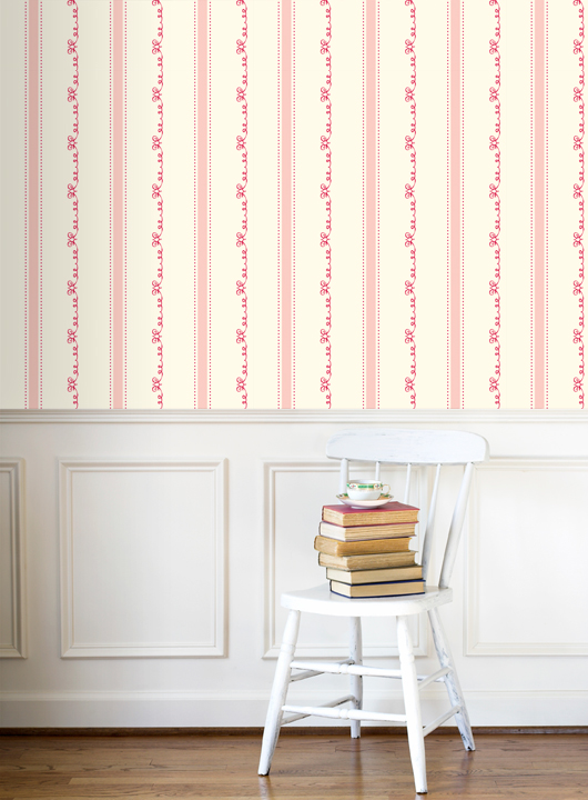 Grow House Grow! {hand-printed wallpaper}