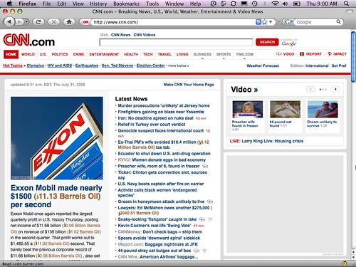 Exxon meets Oil Standard