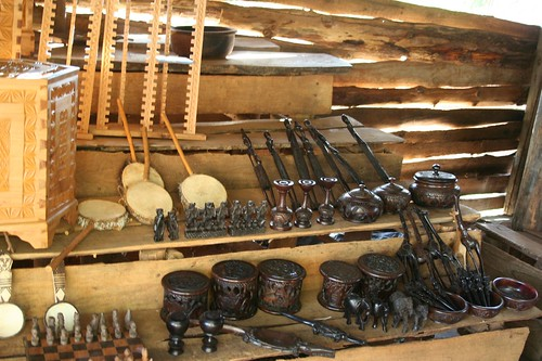 Some of Winson's carved wares