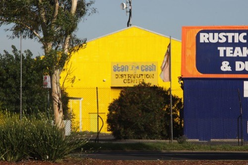 Stan Cash lives on in the western Melbourne suburb of Maidstone