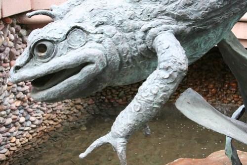 scary frog art