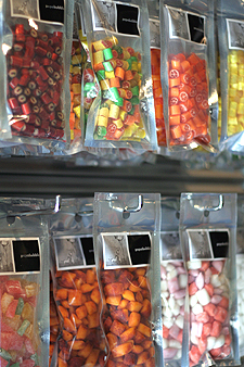 candy in bags