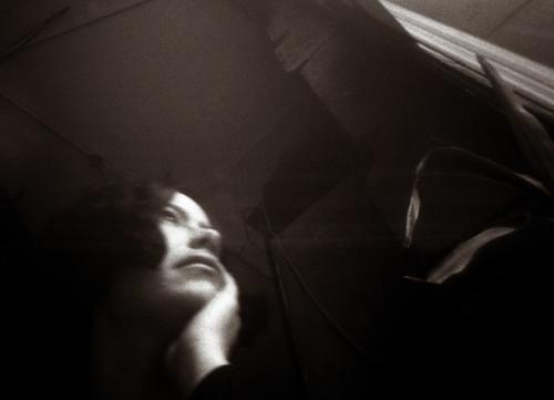 self portrait, pinhole camera