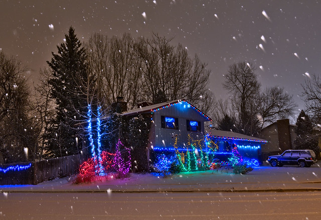 Christmas With the Snow!