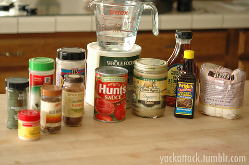 Seitan Ingredients