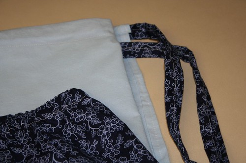 My first wrap skirt