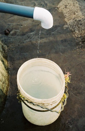 bucket for well