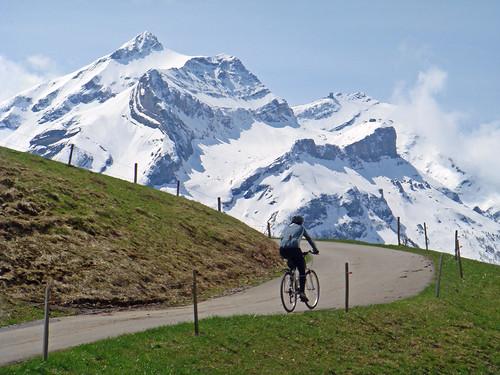 Above Gsteig, Swiss Alps