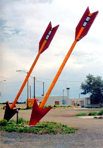 Twin Arrows, circa 2001. Photo by Emily Priddy