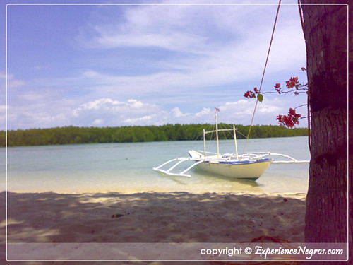 Beach at Sipaway Island, Negros Occidental