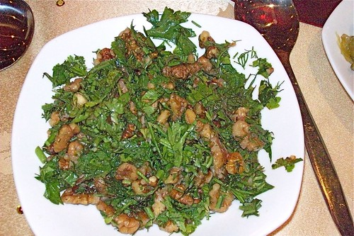 Walnut and Parsley Salad