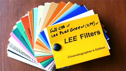 LEE Filters Sampler Book of Gels and Filters