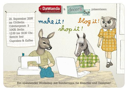 decor8 & Dawanda First European Blogger Event in Berlin!