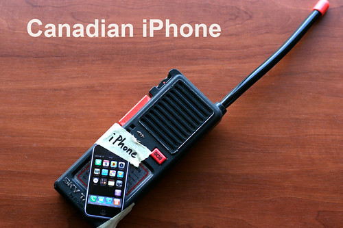 The Very First Canadian iPhone