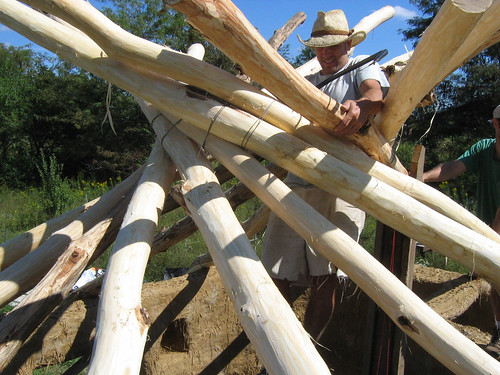 Reciprocal Roof Construction
