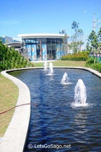 Refreshing Sounds of Fountain Water