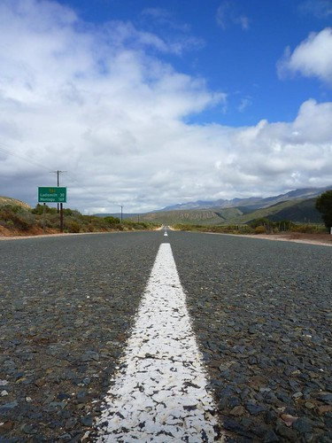 Route 62 through the Karoo