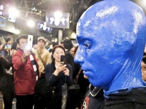 A Blue Man