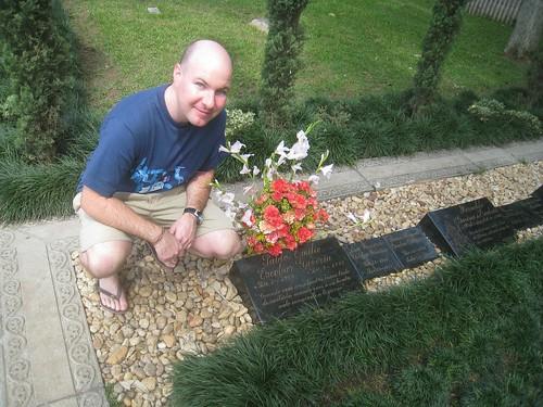 Pablo Escobar's family grave