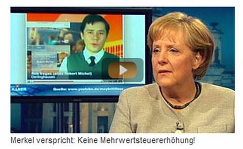 Rob Vegas & Angela Merkel