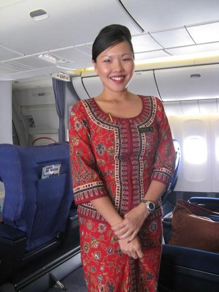 Singapore Airlines Chief Stewardess