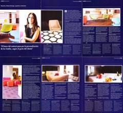 Reportaje en revista Canal Contract · Entrevista a Montse Garrigòs, arquitecta e interiorista