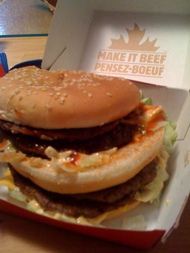 Double Big Mac in Canada