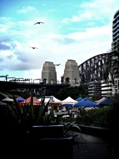 Milson's Point - Harbour Bridge